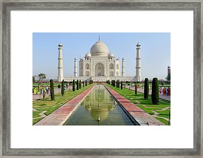 Asia, India, Uttar Pradesh, Agra Framed Print by Steve Roxbury