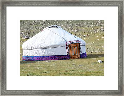 Asia, Western Mongolia, Khovd Province Framed Print