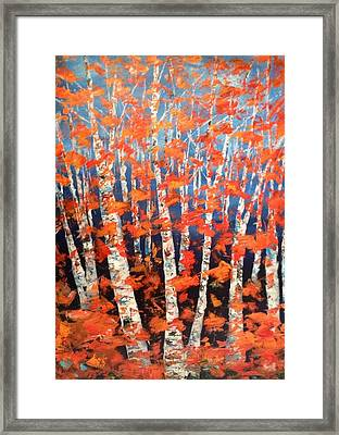 Aspen Abstract Framed Print