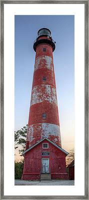Assateague Island Lighthouse Framed Print
