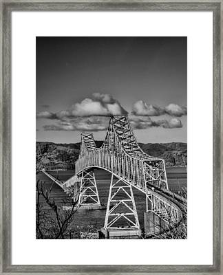 Astoria-megler Bridge Framed Print