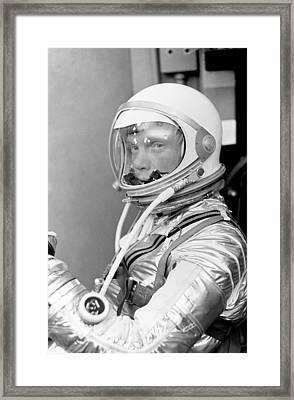 Astronaut John Glenn - Mercury Atlas 6 Framed Print