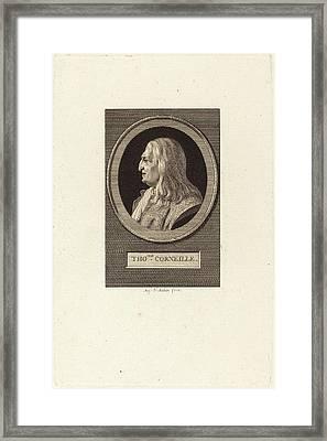 Augustin De Saint-aubin French, 1736 - 1807 Framed Print