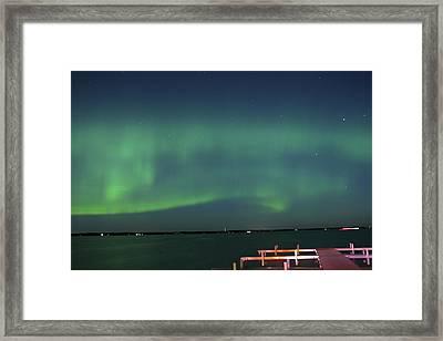 Aurora Borealis Framed Print by Paul Shorma