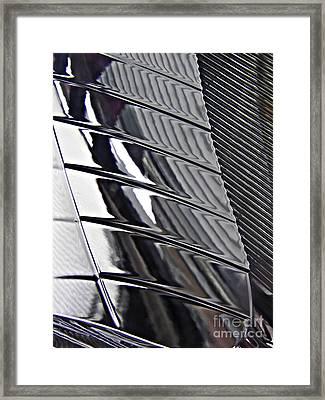 Auto Headlight 4 Framed Print by Sarah Loft