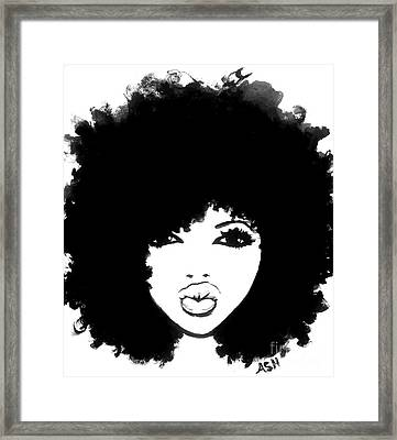 Autumn Attitude Framed Print by Respect the Queen