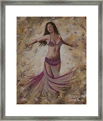 Autumn Dancer Framed Print