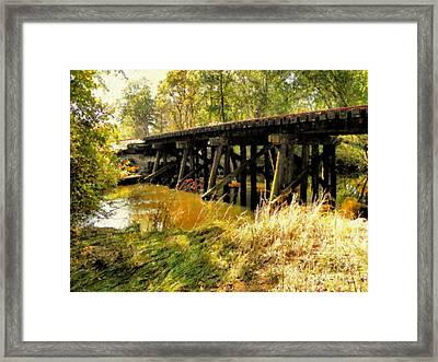 Autumn Travels Framed Print by Sharon Woerner