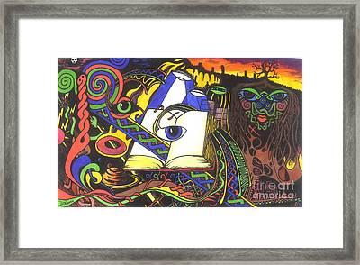 Awakening  Framed Print by Anthony Hodgson