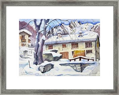 B02  Ticino Ch Framed Print