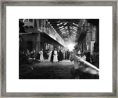 Baghdad Market, 1932 Framed Print