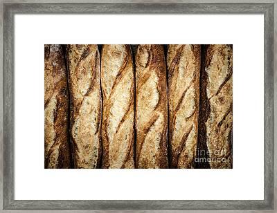 Baguettes Framed Print