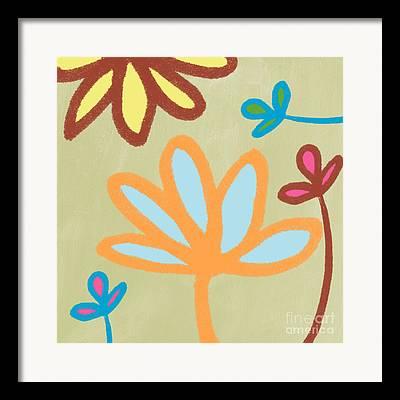 Lotus Leaves Framed Prints