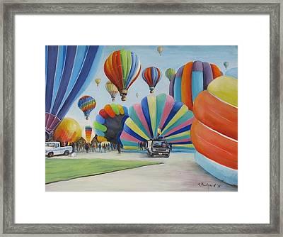 Balloon Fest Framed Print