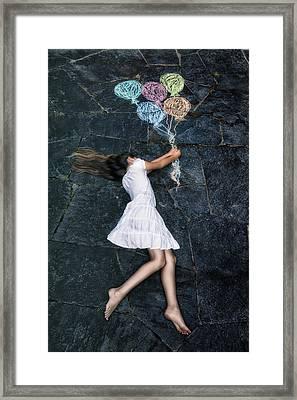 Balloons Framed Print by Joana Kruse