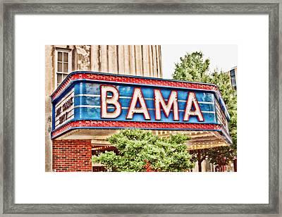 Bama Framed Print by Scott Pellegrin