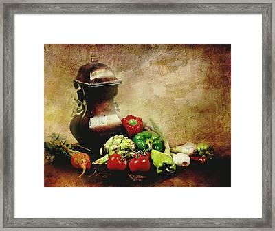 Banquet Framed Print