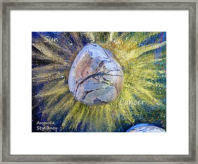 Barack Obama Sun Framed Print