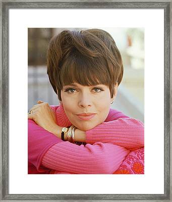 Barbara Feldon In Get Smart  Framed Print by Silver Screen