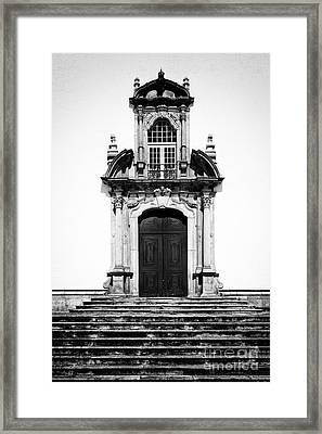 Baroque Portal Framed Print by Jose Elias - Sofia Pereira