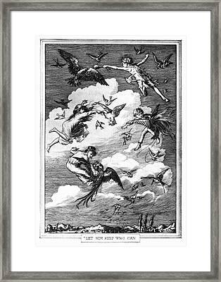 Barrie Peter Pan, 1911 Framed Print