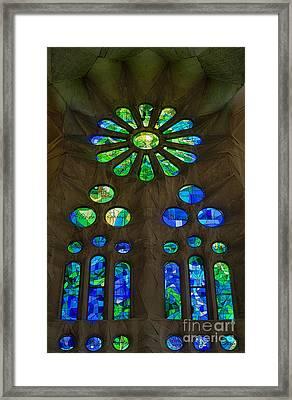 Basilica Sagrada Familia Framed Print
