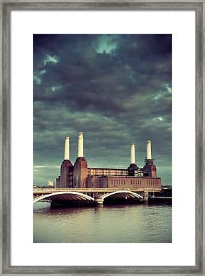 Battersea Power Station London Framed Print