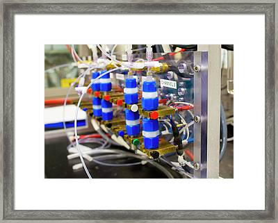 Battery 500 Project Framed Print