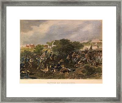 Battle Of Monmouth, 1778 Framed Print