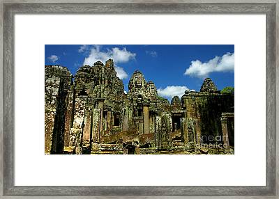 Bayon Temple Framed Print