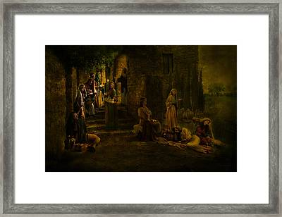 Be Ye Prepared Framed Print by Helen Thomas Robson