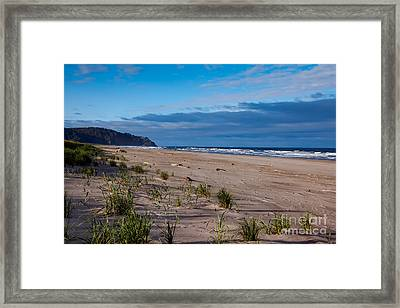 Beach View Framed Print by Robert Bales