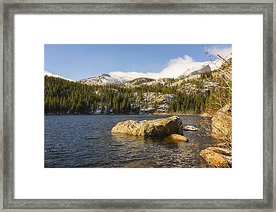 Bear Lake - Rocky Mountain National Park Colorado Framed Print by Brian Harig