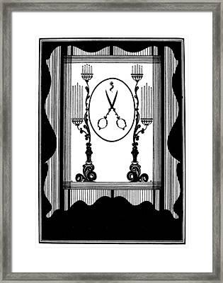 Beardsley Rape Of Lock Framed Print by Granger