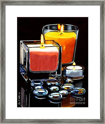 Beautiful Reflection Framed Print by Cory Still