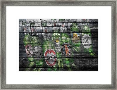 Becks Framed Print
