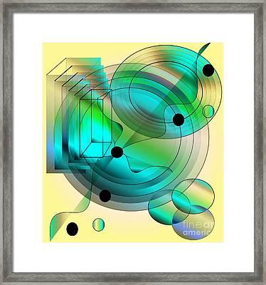 Begin Again Framed Print by Iris Gelbart