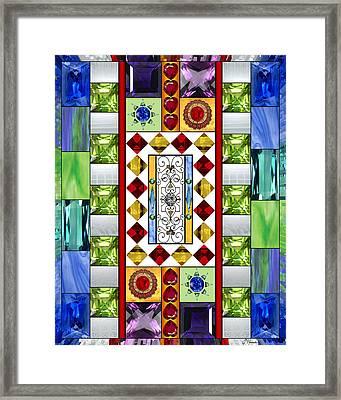Bejeweled 1 Framed Print