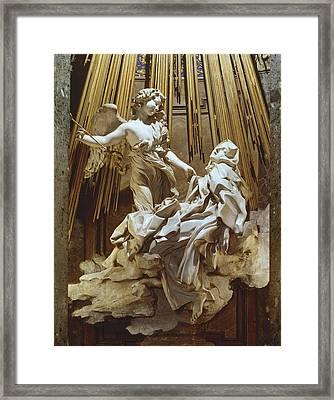 Bernini, Giovanni Lorenzo 1598-1680 Framed Print