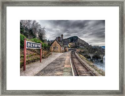 Berwyn Railway Station Framed Print