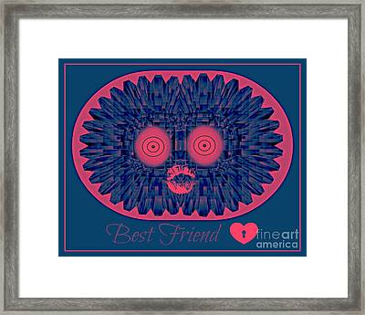Best Friend Framed Print by Meiers Daniel