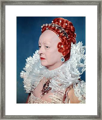 Bette Davis In The Virgin Queen  Framed Print by Silver Screen