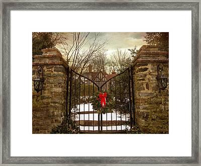 Beyond The Gates Framed Print by Jessica Jenney