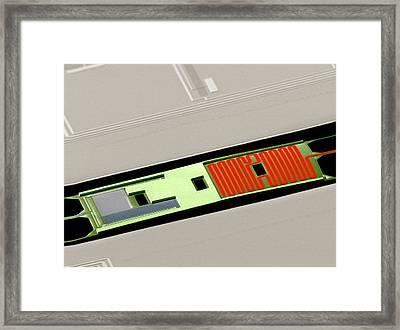 Bicep2 Detector Framed Print