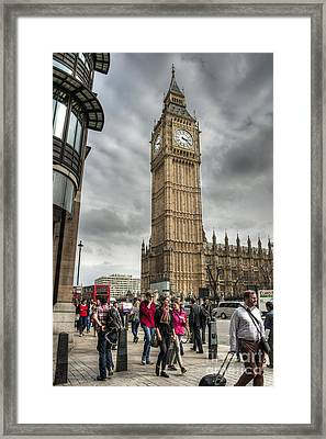 Big Ben London Framed Print by Donald Davis