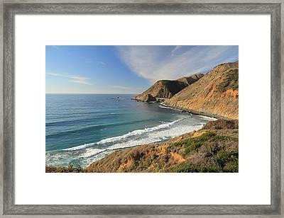 Framed Print featuring the photograph Big Sur Bridge by Scott Rackers