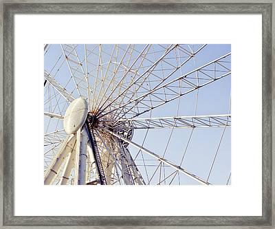 Big Wheel Framed Print by Tom Gowanlock