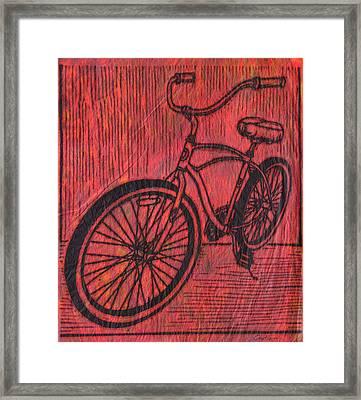 Bike 6 Framed Print
