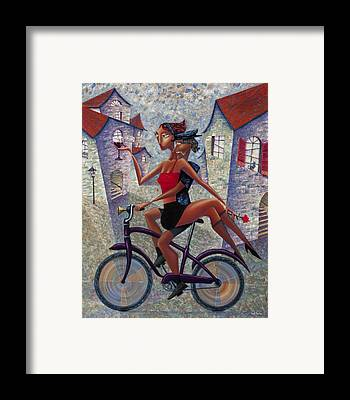 Bicycle Framed Prints