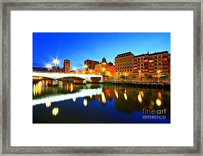 Bilbao 8 Framed Print